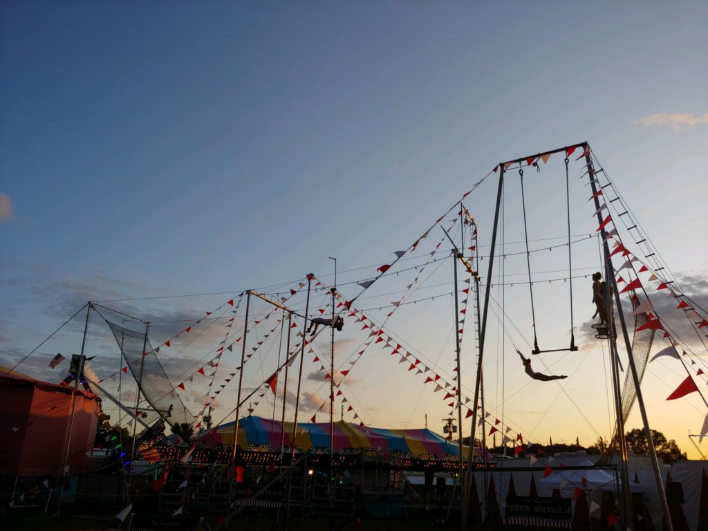 Perephone Ringgenberg - Trapeze at the Fair